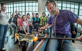Glass artist Copping: 'Never stop exploring and never stop making.