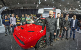 Hellcat designer and CIA grad led symposium at Auto Show