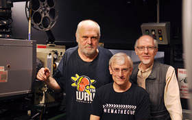 Film event celebrates dimming in projectionist booth