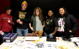 CIA graphic narrative artists sold their wares at comics con