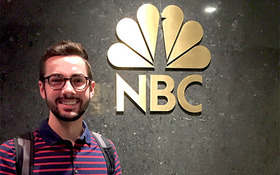Animation major lives the dream for a summer at NBCUniversal