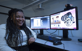 CIA is home: Q + A with Game Design major Javae Brown