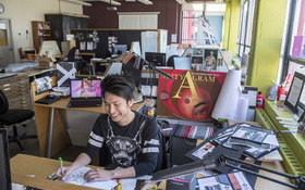 Learning from everyone: Q + A with Graphic Design major Hien Nguyen
