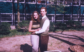 Chris and Shelley Harvan in the mid-90s