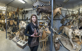 CIA grad is right at home at Cleveland Museum of Natural History