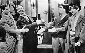 Celebrate Marx Bros Films at Groucho's Garden Party