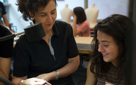 Pre-College Faculty: Pamela Argentieri, 3D Printing + Wearable Art
