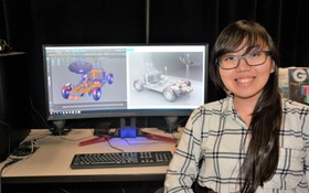 Game design skills landed her a NASA internship