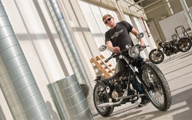 CIA Faculty Scott Colosimo Founds Motorcycle Co.