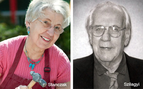 Stanczak, Szilagyi Honored with Schreckengost Teaching Award