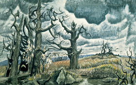 The Whitney Exhibits Charles Burchfield Paintings