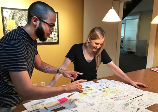 Design Internship Emphasized Team Approach
