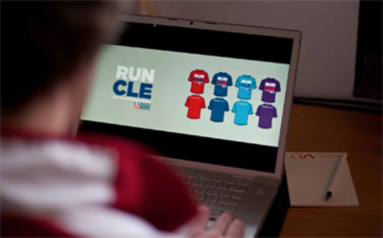 CIA Students Design Cleveland Marathon Shirts