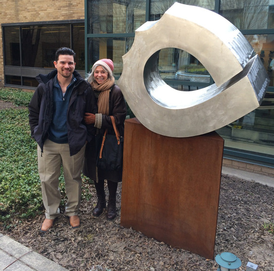 Sculpture grad McConnell creates healing artwork for hospital