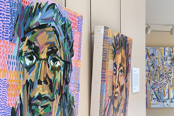 Student's portrait collection on view at University Hospitals through Sept. 8