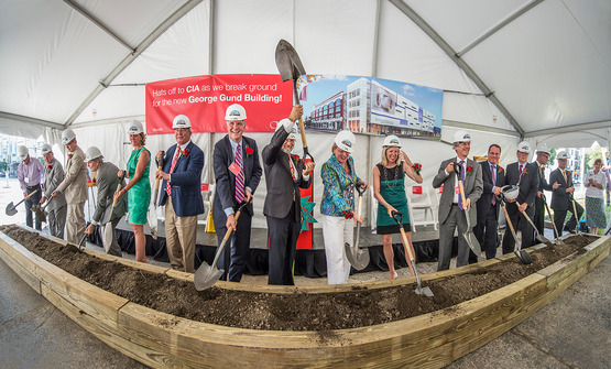 CIA breaks ground for unified campus in Uptown district