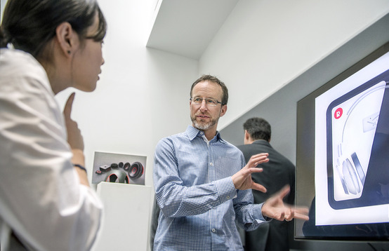 Visiting designer impressed with students, campus