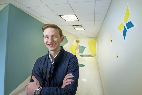 University Hospitals project gives ID major a chance to shine