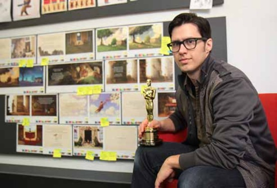 Leap of Faith Leads Joe Bluhm '03 to Academy Award-Winning Film