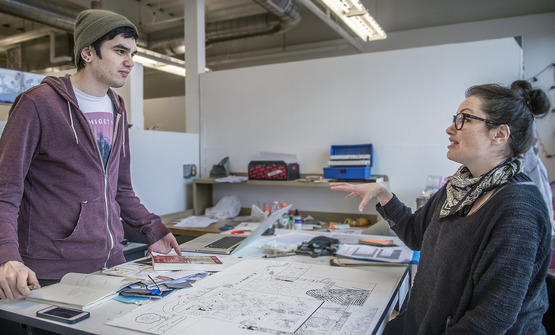 Visiting artist liked CIA students' passion for experimentation