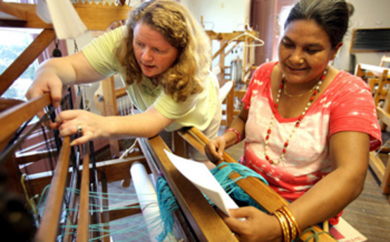 Grad Helps Immigrant Women Weave a New Tradition