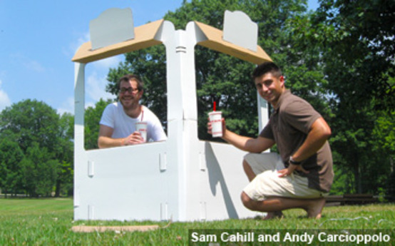 Kids Build a Dream with Design Grad's Playhouses