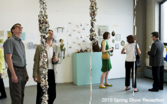 Spring Show Reception Night Is April 19