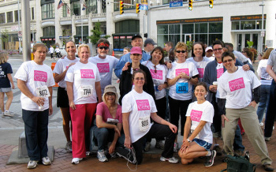 CIA Staff, Faculty Race for the Cure