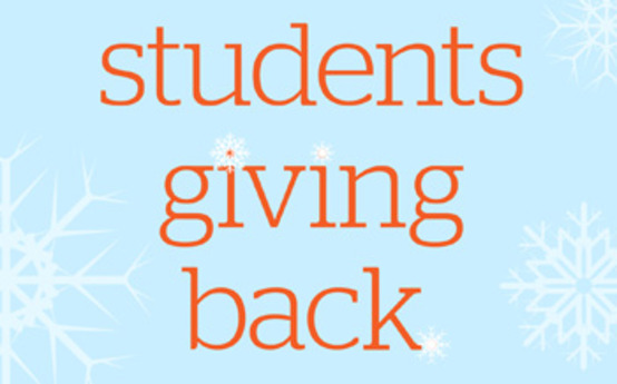 Image result for students give back