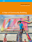 A Year of Community Building