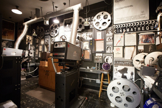 Cinematheque film projector and equipment