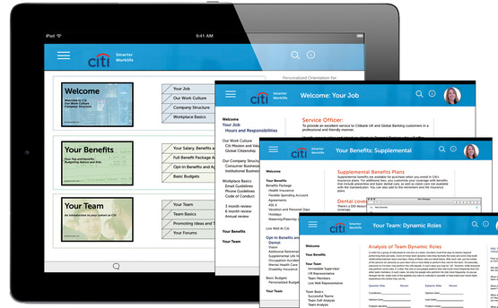 <strong>UX for Onboarding and HR Tablet App for Citi</strong><br />Mari  Hulick, 2016<br />UX/UI for tablet app.