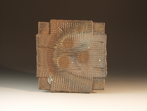 <strong>&quot;Anagama Platter&quot;</strong><br />William Brouillard, 2011<br />Stoneware clay fired to cone 11 in an anagama style wood burning kiln