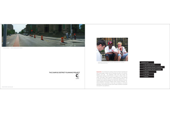 <strong>CCPP Viewbook Spread</strong><br />Mari HulickBook Art Direction and Layout